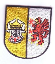 Mecklenburg Vorpommern  Patch Aufnäher,Aufbügler ,Deutschland,kleines Wappen