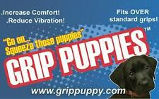 GRIP PUPPIES OVER COMFORT GRIPS MOTORCYCLES QUADS EASY TO FIT REDUCE VIBRATION
