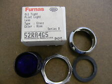 Siemens Furnas 52RA4G5 Oil Tight Blue Glass Lens