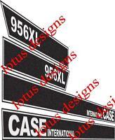 case international 956XL decals / stickers