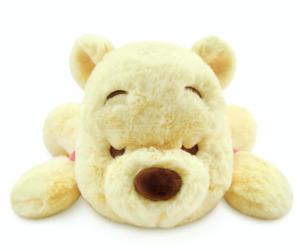 Disney Sleeping Winnie the Pooh Cuddleez Large Plush New with Tags