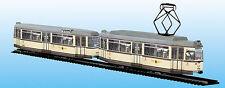 Straßenbahn Modell Kartonbausatz Gotha-Großraum-TW Dresden mit BW Maßst. 1:87-H0