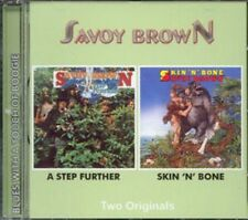 "Savoy Brown: ""a step further/Skin 'N' Bone"" (2on1 CD reissue)"