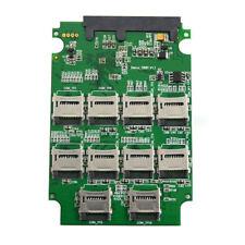 10x Micro SD to Micro SATA Adapter RAID TF Card to 2.5'' Inch Micro SATA Conver