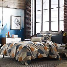 Studio 3B Milo Collection Euro Pillow Sham Grey Lined Flange New