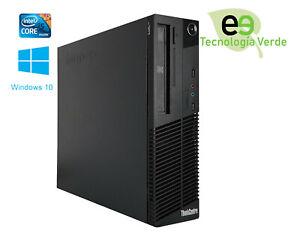 Lenovo Thinkcentre M82 Sff Core i5-3470 3.2 Ghz 4 Gb 250 Gb DVDRW W10