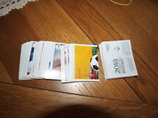 10 STICKERS  PANINI FOOT WORLD CUP RUSSIE 2018   A CHOISIR