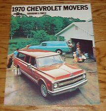 1970 Chevrolet Truck Suburban & Panel Sales Brochure 70 Chevy