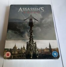 Assassin's Creed - Blu ray steelbook - New and sealed