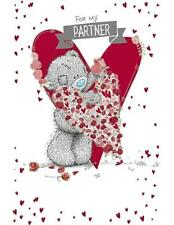 ME TO YOU FOR MY PARTNER GREETING CARD TATTY TEDDY BEAR NEW GIFT