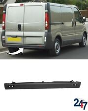 NEW RENAULT TRAFIC 2001-2014 REAR BUMPER BLACK WITHOUT PDC