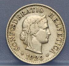 Zwitserland - Switzerland  5 Rappen 1926 KM# 26