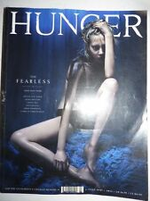 Magazine mode fashion HUNGER #7 autumn winter 2014 the fearless