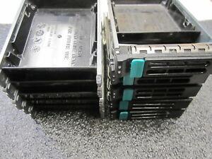 "LOT OF 10 Intel FXX25HDDCAR D31202-001 SAS 2.5"" Hard Drive Disk HDD Caddy"