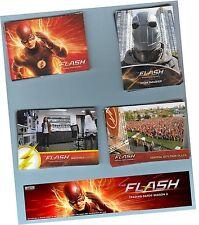 Flash Season 2 (Two) - 72 Card Basic Set & 3 Chase Sets - Mini Master - 99 Cards