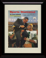 Framed Vince Lombardi Sports Illustrated Print Green Bay Packers Super Bowl 2