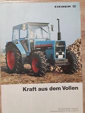 Original Eicher Prospekt Traktor 3072 3080 3088