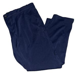 Men's Nike Flex Slim Core Golf Pants 2019 Obsidian AJ5491-451 42/30 navy blue