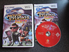 NINTENDO Wii GAME MOVIE STUDIOS PARTY