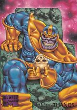 1995 Fleer Marvel Masterpieces Trading Card #99 Thanos