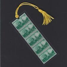 1964 New York Worlds Fair Stamps Bookmark Unique!