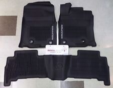 Toyota 4Runner 2013 - 2017 All Weather Floor Liners Genuine OEM OE