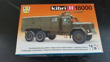 Kibri 18000 KHD Jupiter Fire truck BW New in Box Ho 1:87