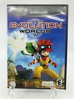 Evolution Worlds CIB Complete /w Registration Card (Nintendo GameCube, 2002)