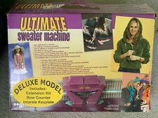 Bond Ultimate Sweater Machine Deluxe Model w/30 Needle Extension - Complete