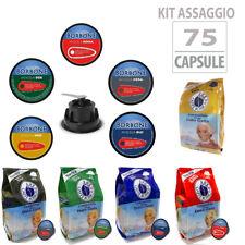 KIT ASSAGGIO 75 CAPSULE CIALDE CAFFE BORBONE COMPATIBILI NESCAFÈ DOLCE GUSTO