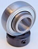 "Premium SA205-16 Insert Bearing 1"" Bore w/ Locking Collar Set Crew  Spherical OD"