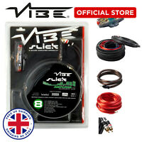 VIBE Amp Wiring Kit 1500w SPL Slick 8G Car Audio BASS SUB OFFICIAL VIBE STORE
