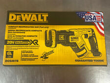New Dewalt DCS367B 20V 20V Max XR Brushless Variable Speed Reciprocating Saw