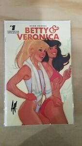 Betty and Veronica #1 Adam Hughes Signed Convention Exclusive (Brand New)