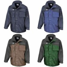 Result Fleece Jacket Cropped Coats & Jackets for Men