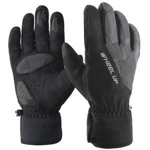 Ski Fahrrad Handschuhe Winterhandschuhe Outdoor Touchscreen Warm winddich Gr. XL