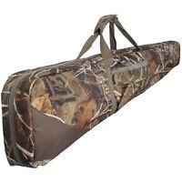 "54"" Double Shotgun Floating Bag Slip Case Cover Camo - Holds 2 Shotguns"
