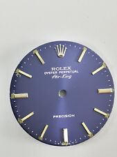 QUADRANTE ORIGINALE ROLEX AIR KING PRECISION BLU CANGIANTE USATO