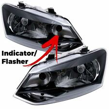 Volkswagen Polo 6R 2009-2014 Headlight Headlamps 1 Pair O/S And N/S