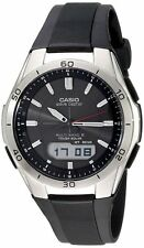 Casio WVAM640-1A Men's Solar Atomic Waveceptor Sports Watch, WAVECEPTOR Ana Digi