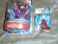 Lot of 2 Marvel Avengers Figures - Hawkeye & Thor - New, Hasbro 2012