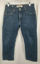 Levi's Men's 505 Straight Fit Denim Jeans W31 x L30 actual 31W x 26L