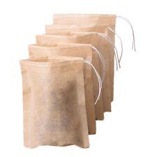 100pcs Empty Tea Filter Bags Loose Herbs Hot Pot Season Bag with Drawstring