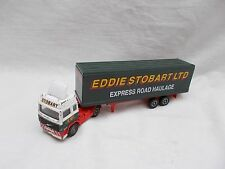 Vintage Corgi Volvo Eddie Stobart Delivery Truck - Made In China