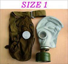 Military soviet russian gas mask GP-5. SIZE-1. FULL SET. Grey