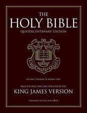 400th Anniversary Bible-KJV-1611 (Hardback or Cased Book)