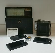 Vintage Graflex Speed Graphic Camera, Box, & Accessories  945