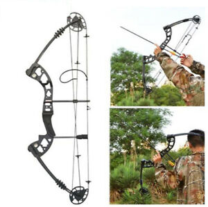 Archery 30-55 lbs Compound Pulley Bow Adjustable Hunting Sports Shooting