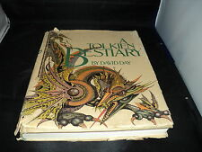 A Tolkien Bestiary - by David Day - Reprint 1983 - huge hardback book - T3