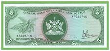 TRINIDAD & TOBAGO - 5 DOLLARS - 1964(1977) - P-31a - UNC - REAL FOTO